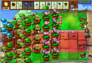Plants vs Zombies играть онлайн