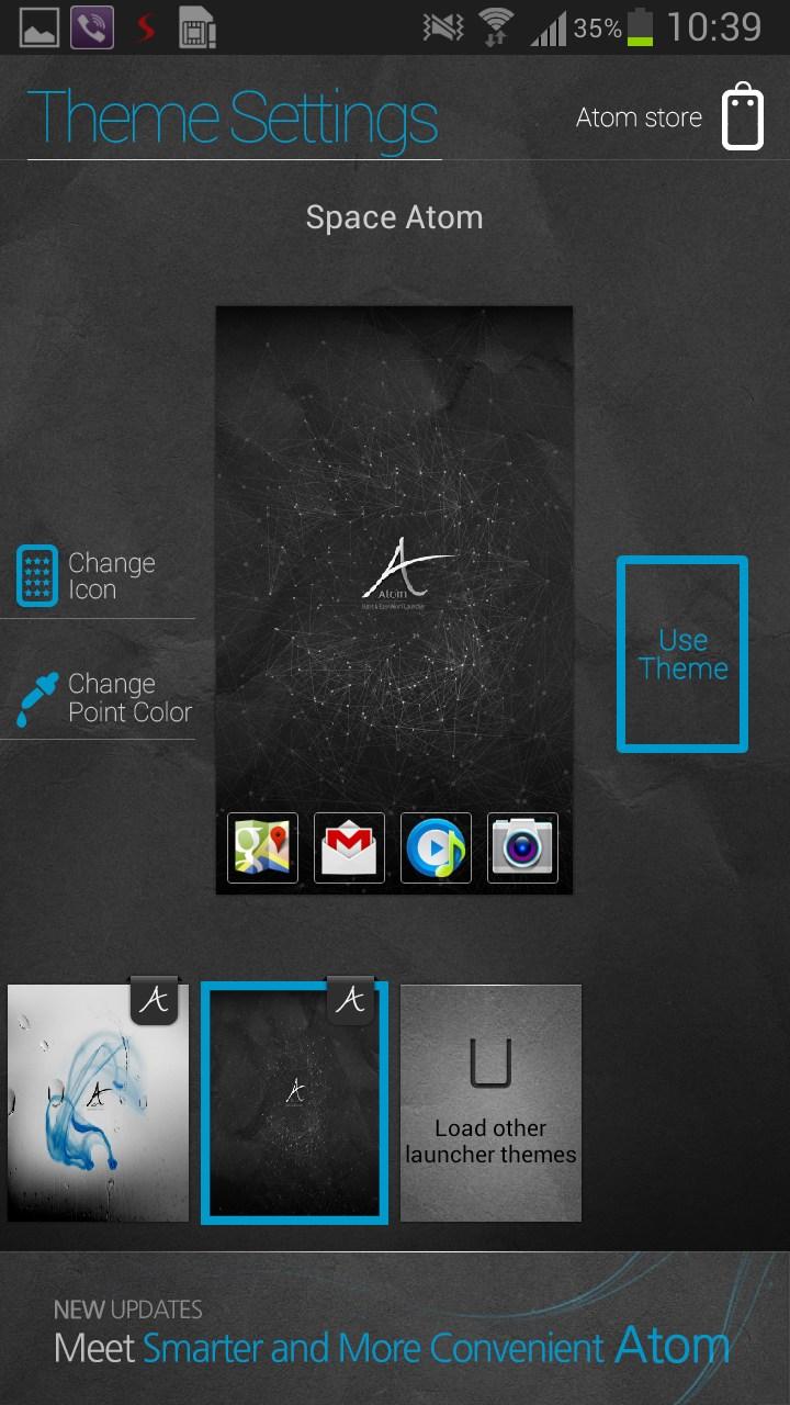 Скачать Atom Launcher Rus На Андроид 2.3.5