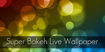 Super Bokeh Live Wallpaper Pro