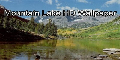 Mountain Lake HD Wallpaper