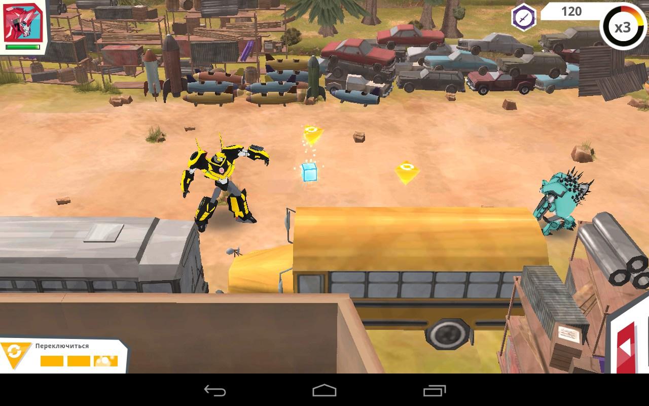 Взломанный Transformers: Robots In Disguise (Мод много денег) на Андроид