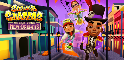 Subway Surfers World Tour New Orleans 2 (Halloween)