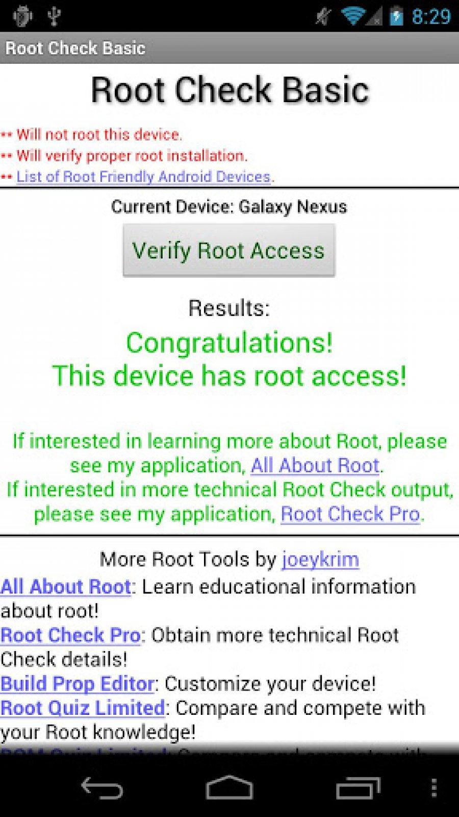 Скачать root checker rus