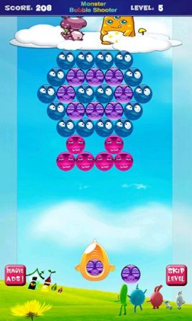 Monster Bubble Shooter HD