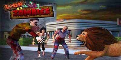 Lion vs Zombies