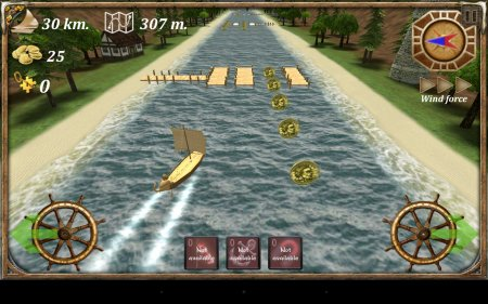 Turbo River Racing Ship 3D
