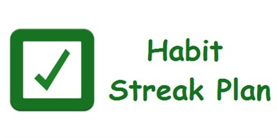 Habit Streak Plan