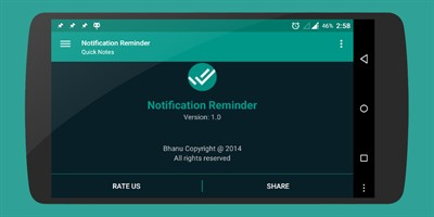 Notification Reminder