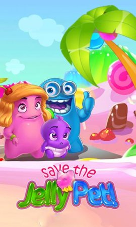 Save the jelly pet!