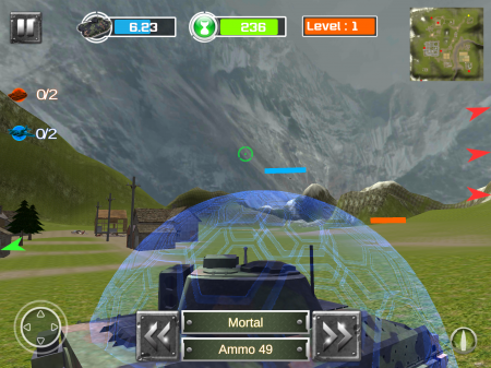 Battlefield of Tank Army 3D