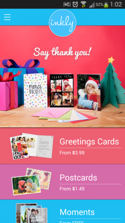 Inkly: Personalised Cards