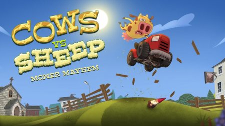 Cows Vs Sheep: Mower Mayhem