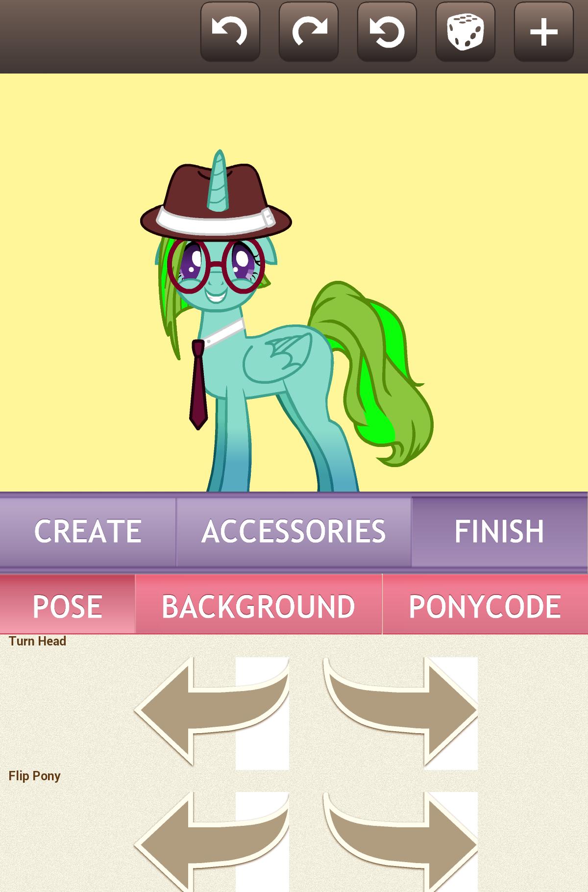 Создай свою пони 5 с новой прической полная версия