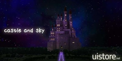 CASTLE AND SKY LIVE WALLPAPER