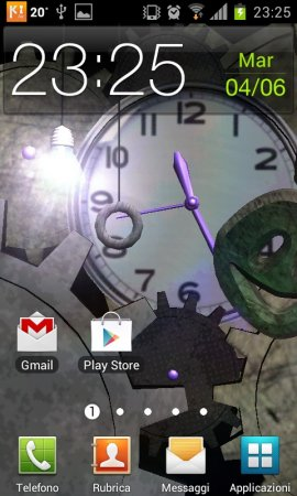 Clock Bulb 3D Live Wallpaper